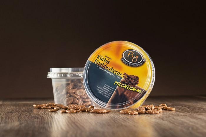 Knabberkerne Milchschokolade